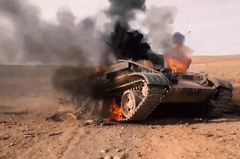 """דאעש חוזר לחיים במזרח """"סוריה""""?"""