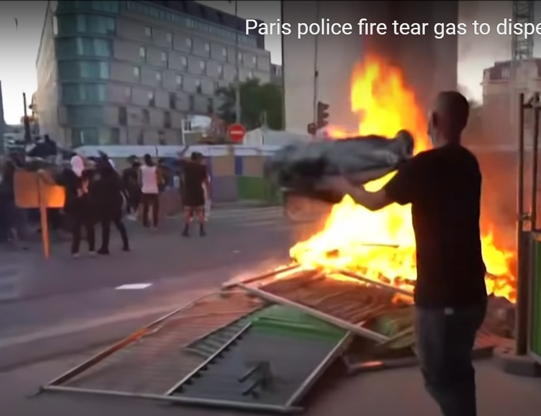 פריז: מתפרעים שחורים, מוסלמים ופרוגרסיבים מבעירים ומשתוללים בפריז. מה יעשה המקרון?